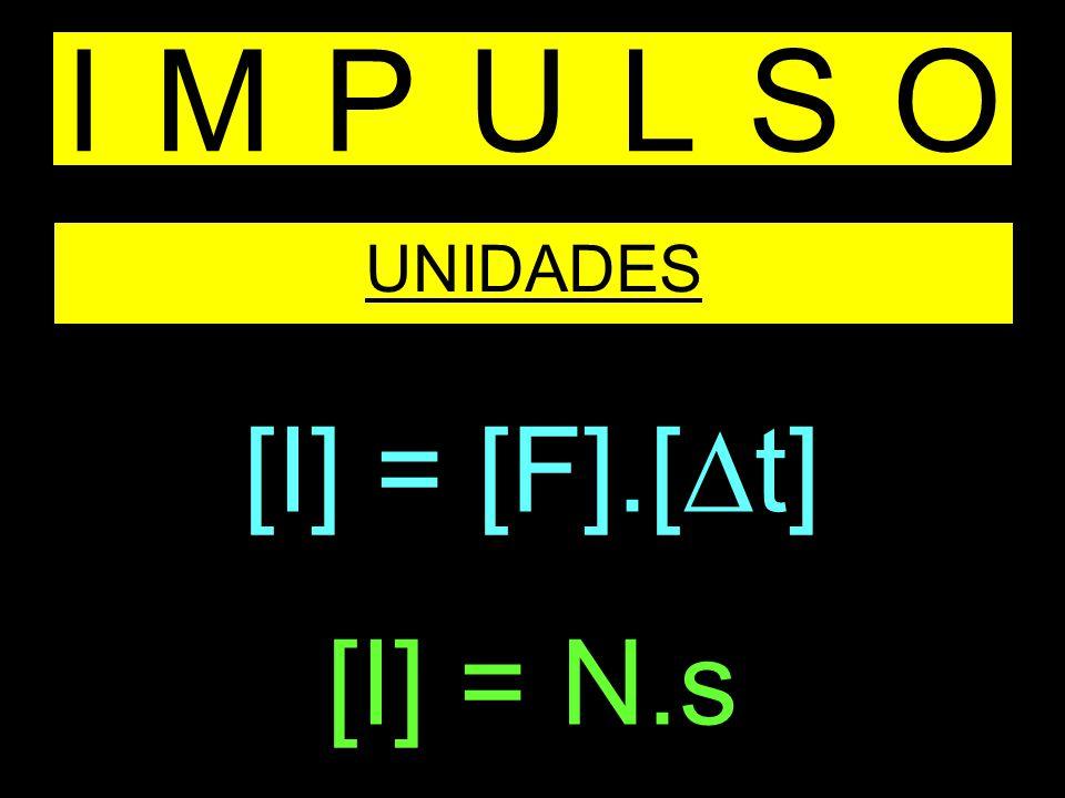 IMPULSO UNIDADES [I] = [F].[t] [I] = N.s